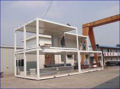 Maison conteneur construction