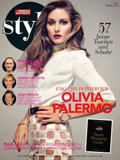 The Olivia Palermo Lookbook : Olivia Palermo For SI STYLE Magazine