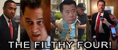 The Filthy Four! Democrats Who Have Been Arrested Or Raided By The FBI This Week!