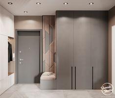 Project Unlaboured | Minsk, Belarus on Behance Wardrobe Door Designs, Wardrobe Design Bedroom, Wardrobe Doors, Closet Designs, Bedroom Door Design, Bedroom Cupboard Designs, Bedroom Cupboards, Hallway Furniture, Bedroom Furniture Design