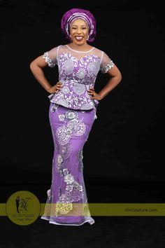 50 Ways to Rock Aso Ebi Styles This Season African Lace Styles, African Lace Dresses, African Fashion Dresses, African Clothes, Nigerian Fashion, African Outfits, African Attire, African Wear, African Women
