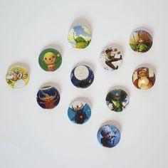 2014 - William Joyce - CALF Button Set