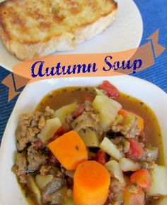 Homemade Soup and Bread. And you don't have to spend all day making it. This recipe is a family favorite and for very good reasons. Make some today!