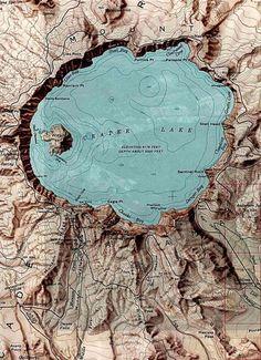 paleolimbus: Crater Lake, OR, USA