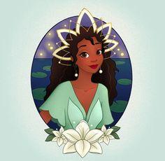 Disney Princess Art, Princess Tiana, Disney Fan Art, Disney Princesses, Disney Style, Disney Love, Disney Magic, Disney Characters, Twisted Disney