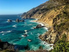 Hues of the Big Sur Coastline.- The Best of Big Sur: Hiking, Camping, Beaches, and Waterfalls