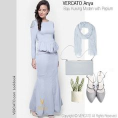 For a refreshing look try this monochromatic look from top to bottom. @vercato ANYA Kurung Moden is available in grey and beige. . If you're in Mid Valley area get this at 50% Off at @metrojayamy Mid Valley ground floor KL. . WhatsApp for details: 6011-26600313 . #vercato #rayapopupstore #rayashopping #raya #raya2017 #lookbook #muslimahstyle #muslimahfashion #ootdmalaysia #ootdsg #ootd #bajuraya #hijabfashion #hijabootd #metrojaya #metrojayamy #midvalley #teamrayakelabu #kelabu #peplum…