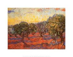 The Olive Grove, c.1889 Art Print by Vincent van Gogh at Art.co.uk