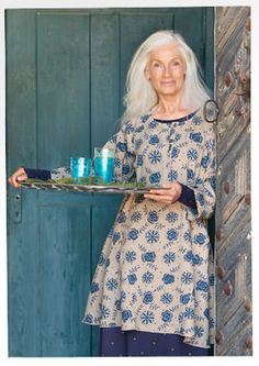 """""""Roze"""" linen dress – {{p_2014_christmas_rusticroses_title}} – GUDRUN SJÖDÉN – Webshop, mail order and boutiques 