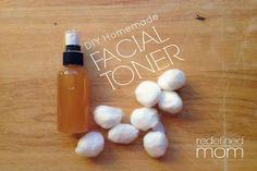 Homemade Natural Facial Toner!