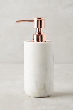 Slide View: 1: Marble Soap Dispenser