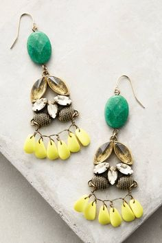 at anthropologie Sunflower Drops