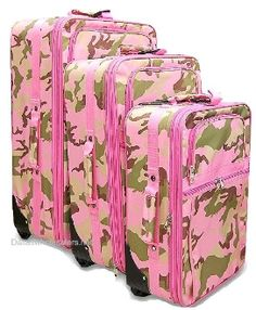 Travelers Club 2-Piece Luggage Set With 4-Wheel System In Pink ...