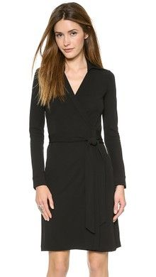 Diane von Furstenberg Julian Mini Wrap Dress | SHOPBOP