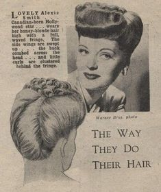 1940s hair & make up inspiration