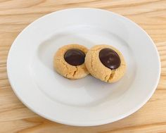 Chocolate Thumbprint Cookies | I've been looking for the best thumb print cookie for years. The dough doesn't look right on this one but I like the shiny chocolate.