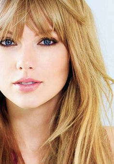 Taylor Swift (from her shoot for the March 2013 75th anniversary issue of Glamour Magazine) She is, simply, a beauty