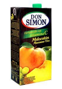 Don Simon Peach, Grape and Apple Juice - 当西蒙桃子、葡萄和苹果汁:Nước ép hỗn hợp đào, nho và táo hiệu Don Simon được sản xuất tại Tây Ban Nha, dùng uống trực tiếp, lắc kỹ trước khi dùng và ngon hơn khi dùng lạnh.Gia vi thuc pham www.foodgia.com