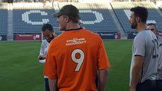 #MLS  Colorado Rapids, Denver Broncos team up for skills and drills competition