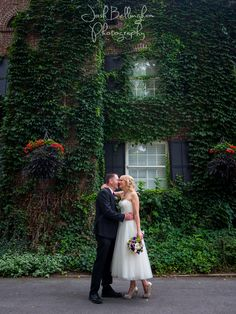 Stunning vine covered wall behind the PIllar and Post. This was a gorgeous intimate wedding at the world famous Vintage Hotels in Niagara On The Lake. @vintagehotels  #JoshBellinghamPhotography www.joshbellingham.com
