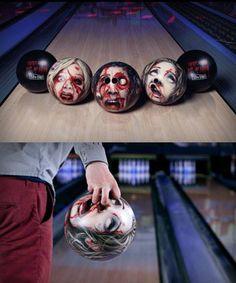 Zombie Bowling Balls by Jung van Matt/Elbe Ad Agency… Learn more here: http://technabob.com/blog/2011/08/07/zombie-bowling-balls/