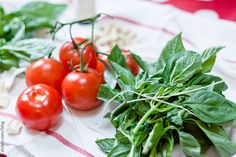 Basil & Tomatoes by Elsbro, via Flickr