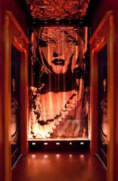 Vanity Nightclub By Mr. Important Designs Las Vegas Bathroom Entrance!  Hotel And Casino