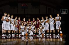 chris martin photography - basketball poster