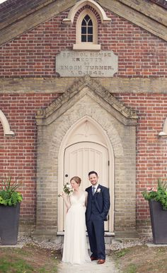 A Vintage, Schoolhouse Wedding In Toronto on http://www.weddingbells.ca/blogs/real-weddings/2012/08/17/a-vintage-schoolhouse-wedding-in-toronto/  Our wedding is at a schoolhouse too (and I know this person), so these are cool.