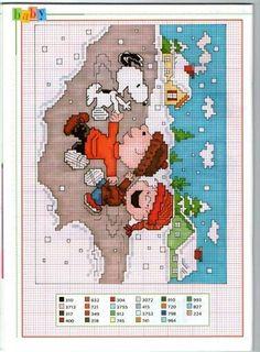 part2【スヌーピー】クロスステッチ・アイロンビーズ・ドット絵!ハンドメイド・手芸DIY - NAVER まとめ Xmas Cross Stitch, Cross Stitch Needles, Cross Stitch Baby, Cross Stitch Charts, Cross Stitching, Disney Cross Stitch Patterns, Counted Cross Stitch Patterns, Cross Stitch Designs, Cross Stitch Embroidery