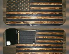 This American Flag Is Hand Made From Solid Wood And Measures About 34x20x15 All Items Are Handmade So Each Will Be One Of A Kind