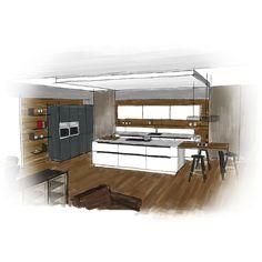 Exemple de plans de cuisine EWE