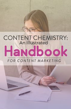 content chemistry an illustrated handbook for content marketing