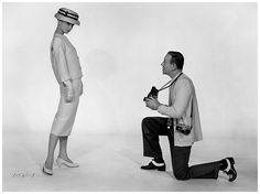 Audrey Hepburn and Fred Astaire – Portrait by Richard Avedon for the movie Funny Face, 1956