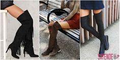 2017 yılının en trend parçalarından olan uzun dizüstü çizmelerin tercihi için bacak boyunun uzun olması gerekmektedir.
