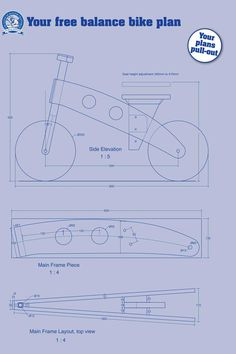 Equilibrio Bike - El Instituto de la Madera