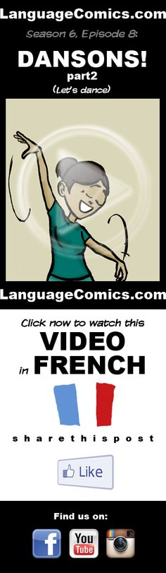 #French practice and pronunciation. Enjoy and share! https://www.youtube.com/watch?v=OysC13w6AWk