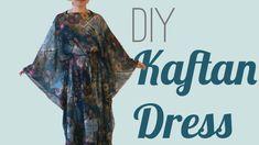 DIY Kaftan Dress / Cover Up