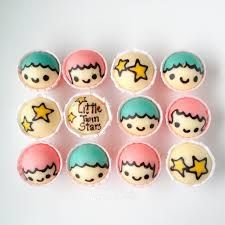 Little Twin Stars Steam Cake Recipe - Little Miss Bento Cupcake In A Cup, Mini Cupcakes, Cupcake Cakes, Steam Cake Recipe, Steamed Cake, Steamed Buns, Cute Baking, Steam Recipes, Star Cookies