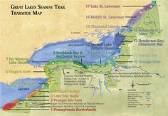 Birding Map, Seaway Trail