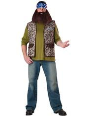 Funny Duck Dynasty Willie Adult Costume