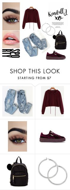 """""""*Street style*"""" by lejlaganovic ❤ liked on Polyvore featuring Puma, Madden Girl, xO Design, StreetStyle and 2017"""