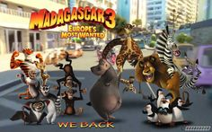 Madagascar 3 Movie HD Wallpapers 2012