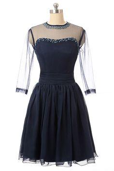 430581b61e3 Navy Blue Homecoming Dresses
