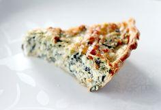 Spinach/Artichoke Pie--a yummy quiche-like thing.