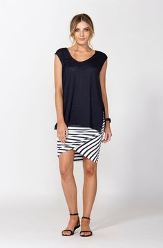 The best of what's new! Shop the Jersey Ruched Skirt in stores and online now www.decjuba.com.au @Decjuba