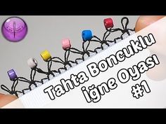 Beaded crochet lace Model Making Needle # 2 in HD Quality - YouTube