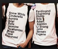 omg that would be perf for bf/gf<<<lol it has Snow White's princes real name but not Charming's (it's Henry)