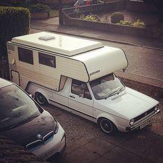 Pickup Camper, Truck Camper, Rv Campers, Camper Van, Vw Caddy Mk1, Volkswagen Caddy, Vintage Rv, Kabine, Motorhome