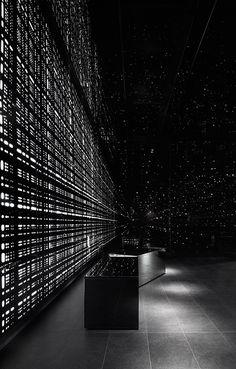 Staggering myth-inspired infinite lobby for Melbourne apartments (by Elenberg Fraser)